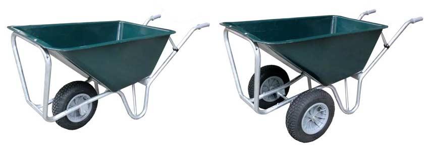 kruiwagen-1-wiel-of-kruiwagen-2-wielen-dubbel-neuswiel-enkel-neuswiel